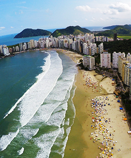 Guarujá – a pérola do Atlântico